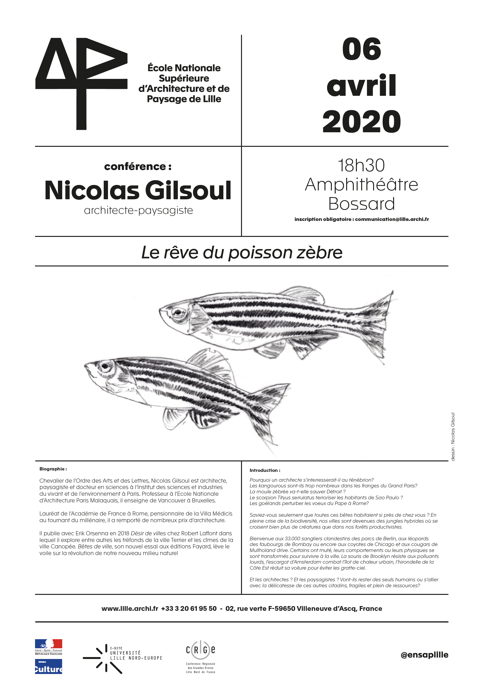 Conférence de Nicolas Gilsoul 06/04/2020