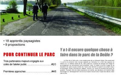 Journal de l'atelier public de paysage n°4