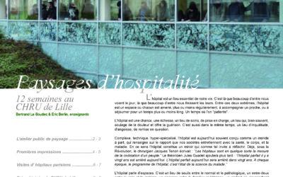 Journal de l'atelier public de paysage n°5