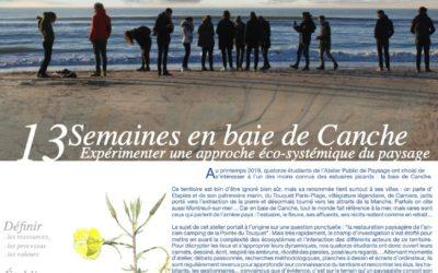 Journal de l'atelier public de paysage n°13