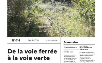 Journal de l'atelier public de paysage n°14