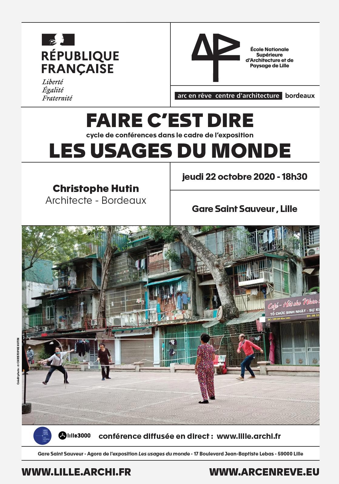 Conférences de Christophe Hutin