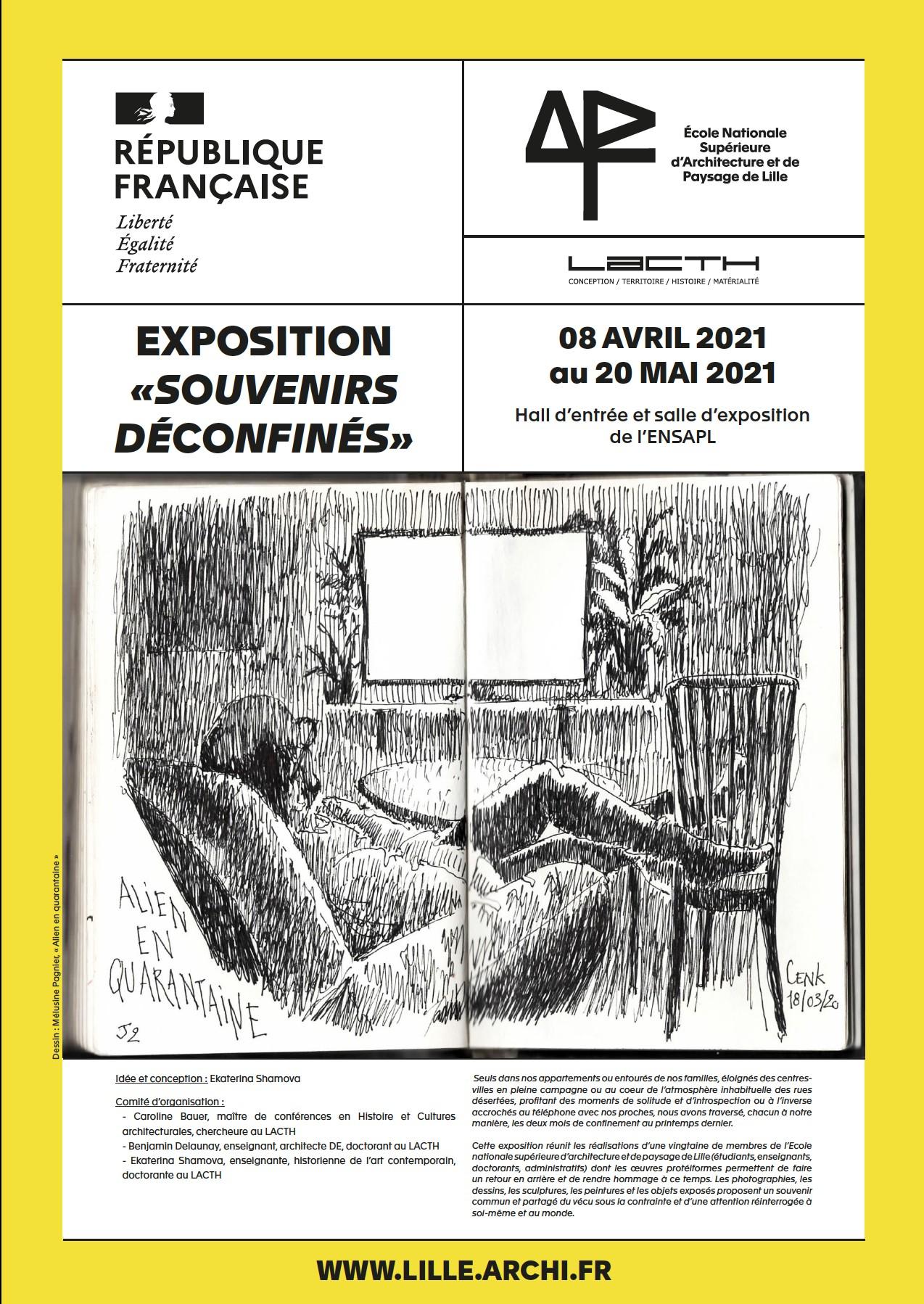 Exposition : souvenirs déconfinés