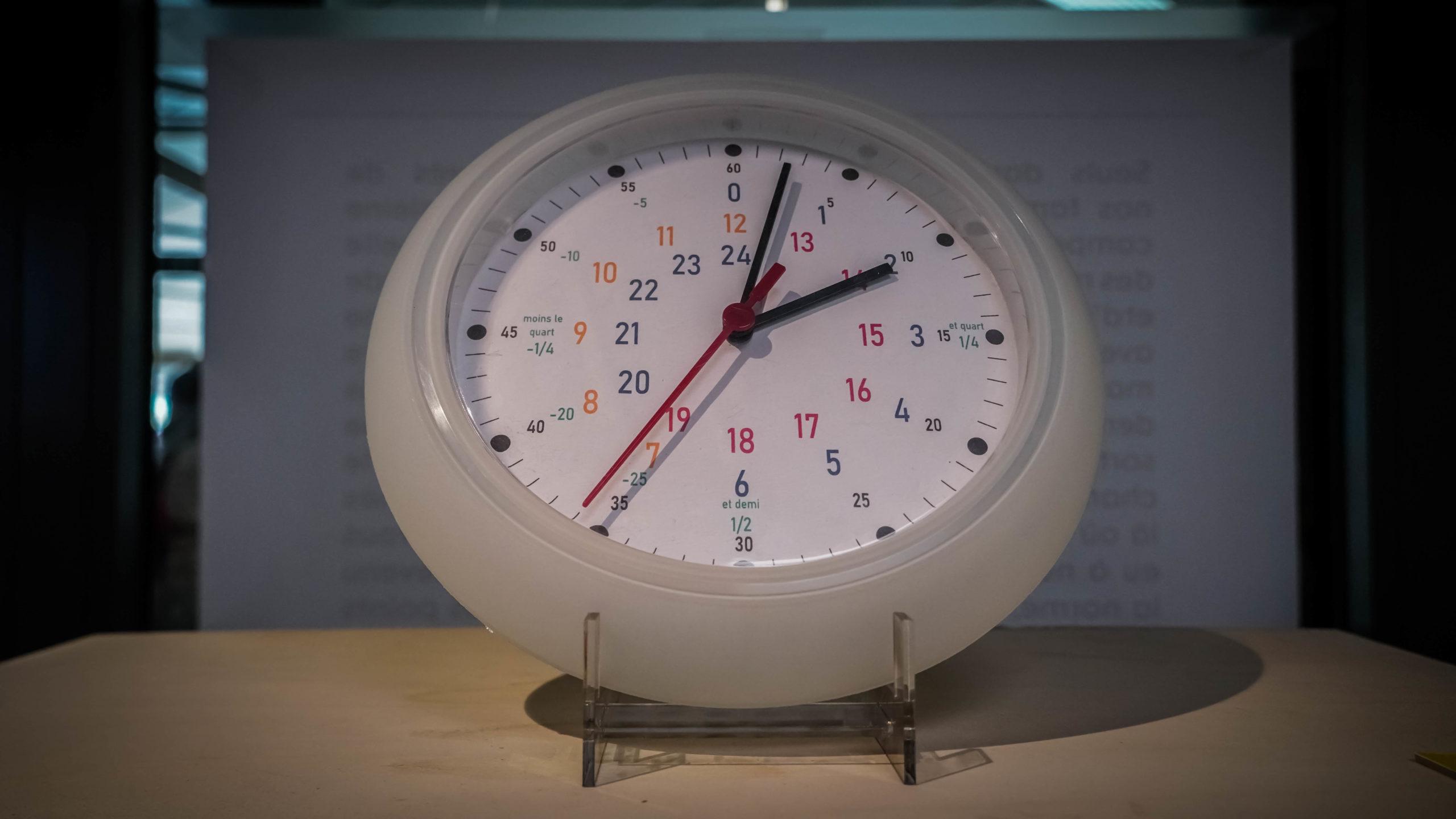 """""""Une horloge pour dyslexique"""" - Vincent Ducatez - Exposition """"Souvenirs Déconfinés"""" ENSAPL"""