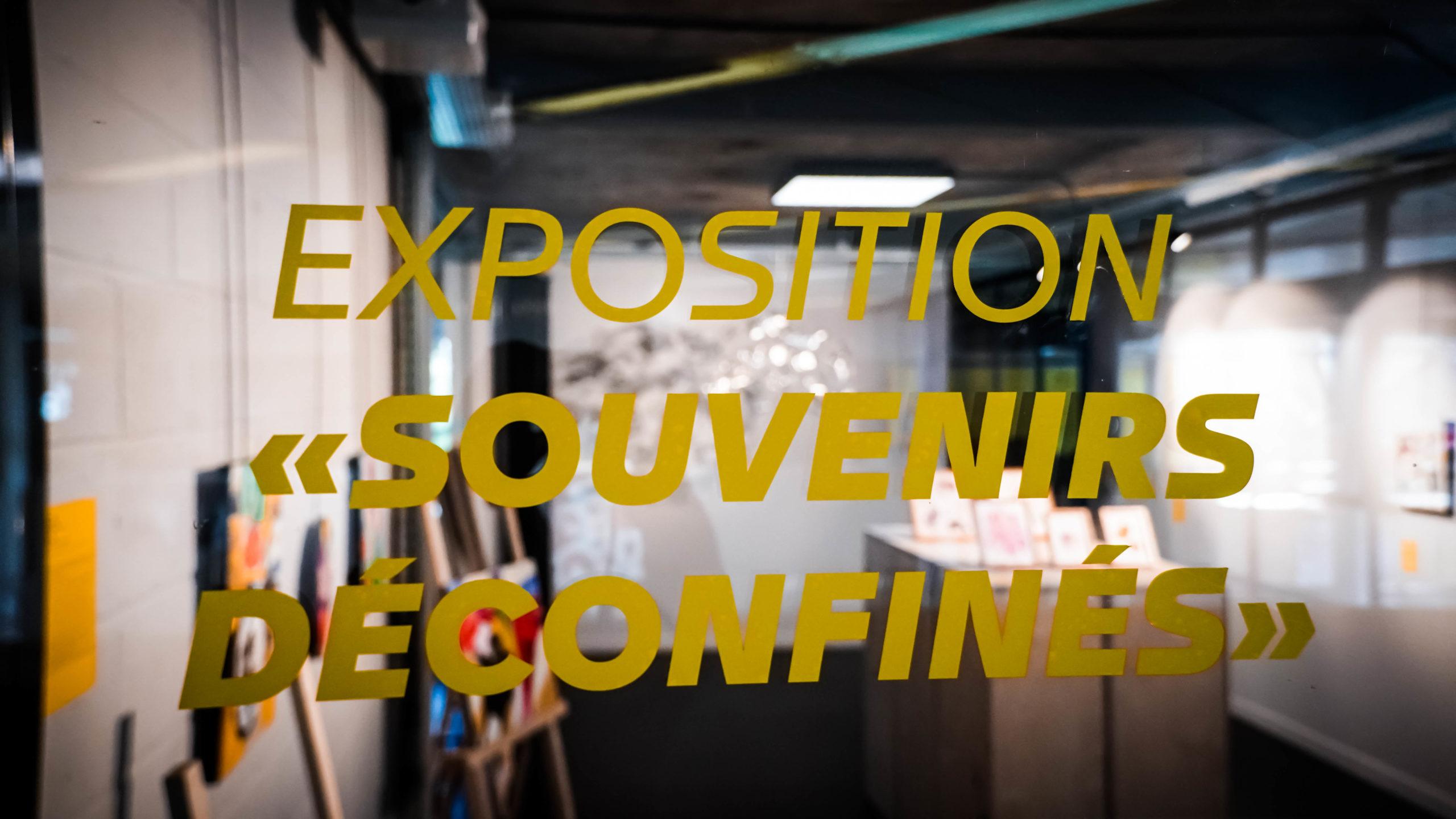 """Exposition """"Souvenirs Déconfinés"""" ENSAPL"""