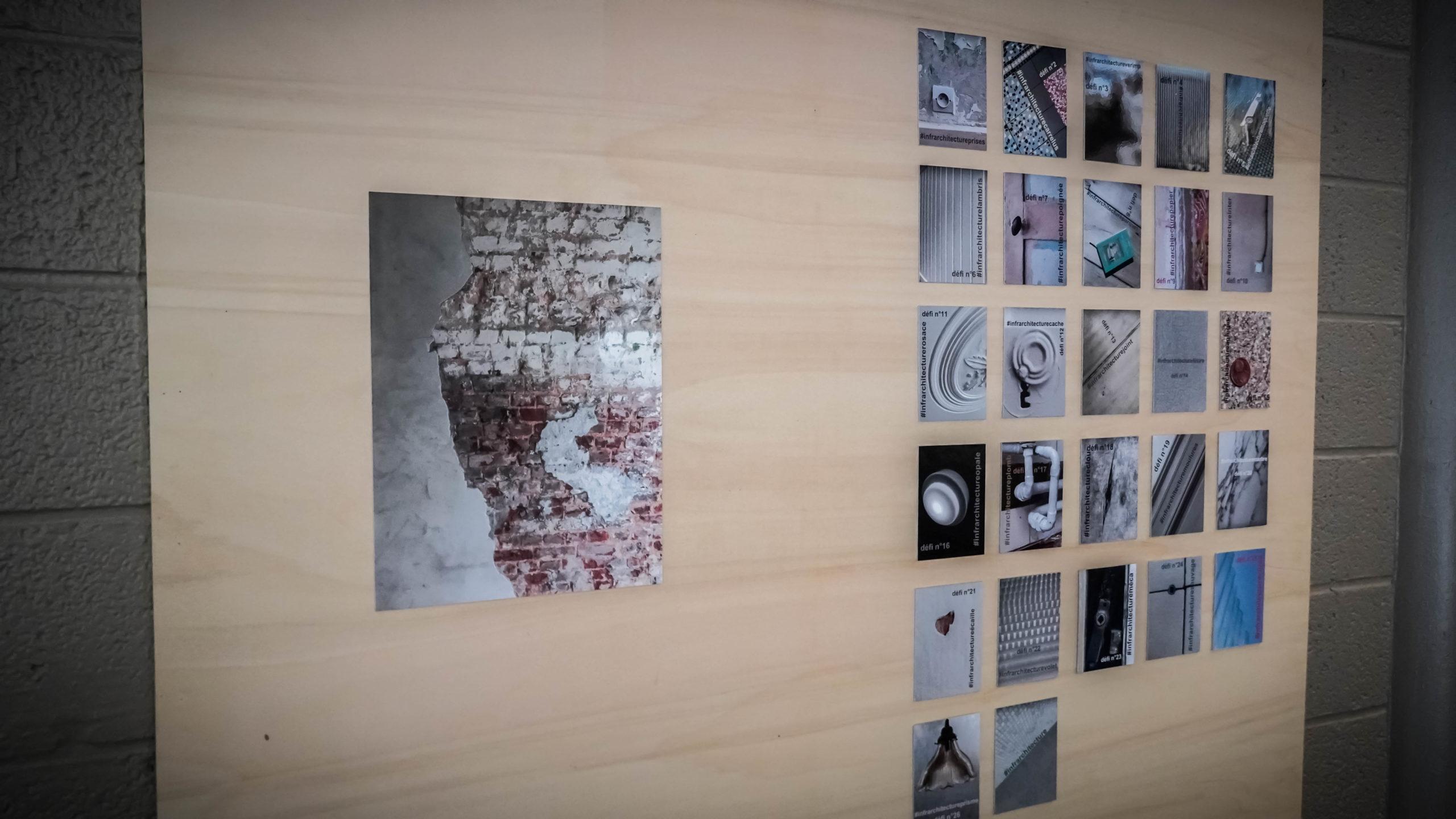 """""""Révéler pour soigner"""" - Benjamin Delaunay, """"#infrarchitecture"""" - Eric Monin - Exposition """"Souvenirs Déconfinés"""" ENSAPL"""