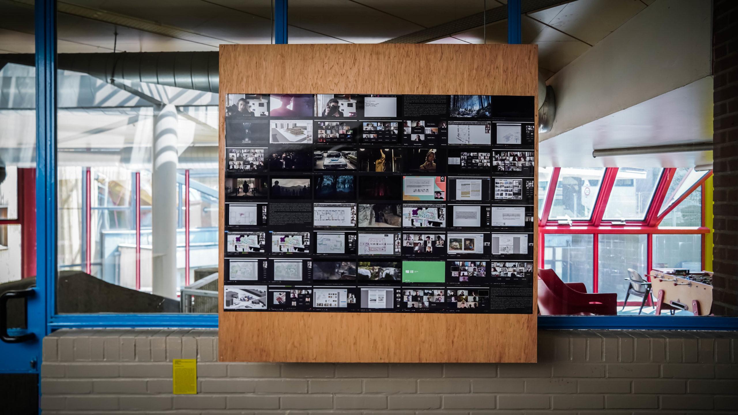 """""""Confinement"""" - Ilyas Chaouis - Exposition """"Souvenirs Déconfinés"""" ENSAPL"""
