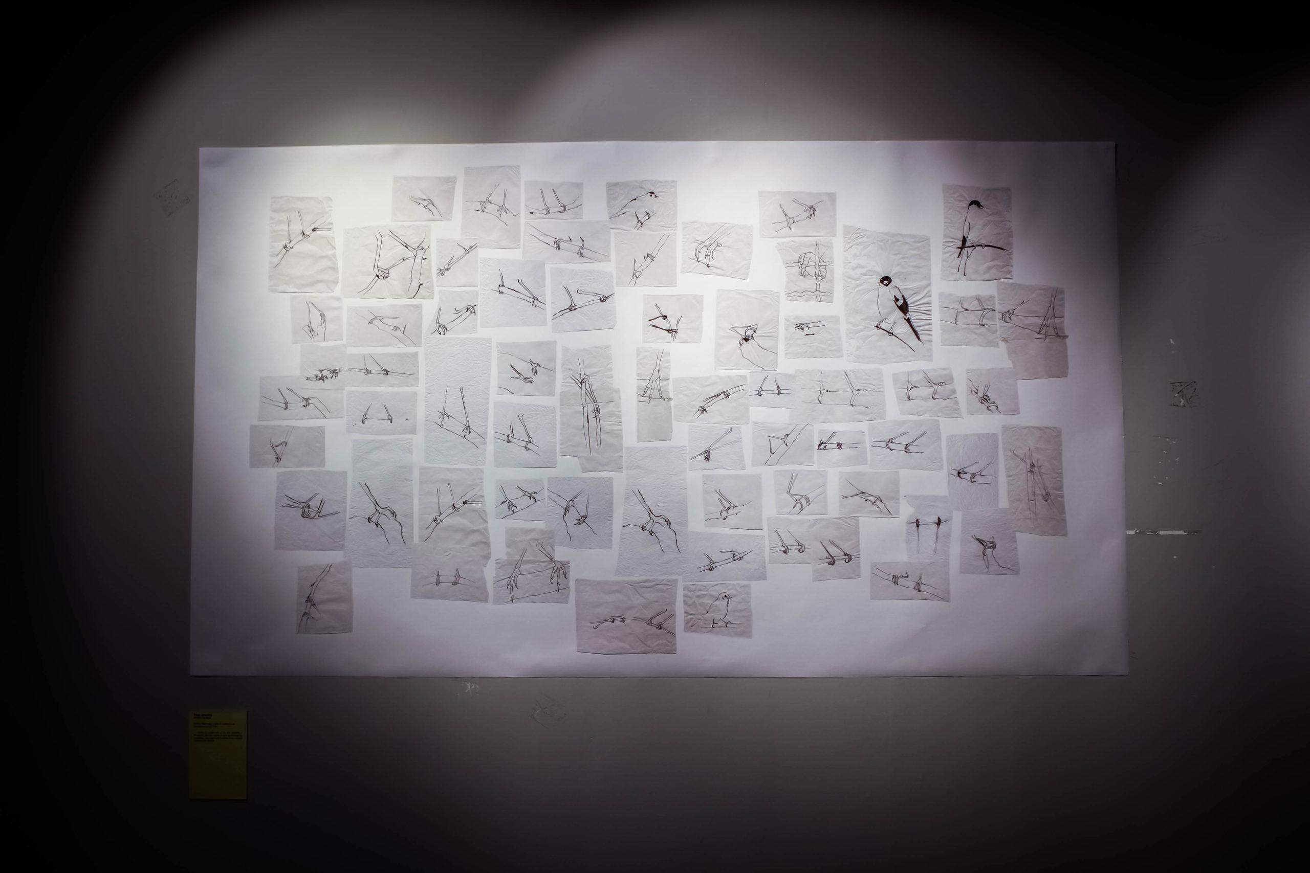 """""""Tenir, parait-il"""" - Sabine Ehrmann - Exposition """"Souvenirs Déconfinés"""" ENSAPL"""