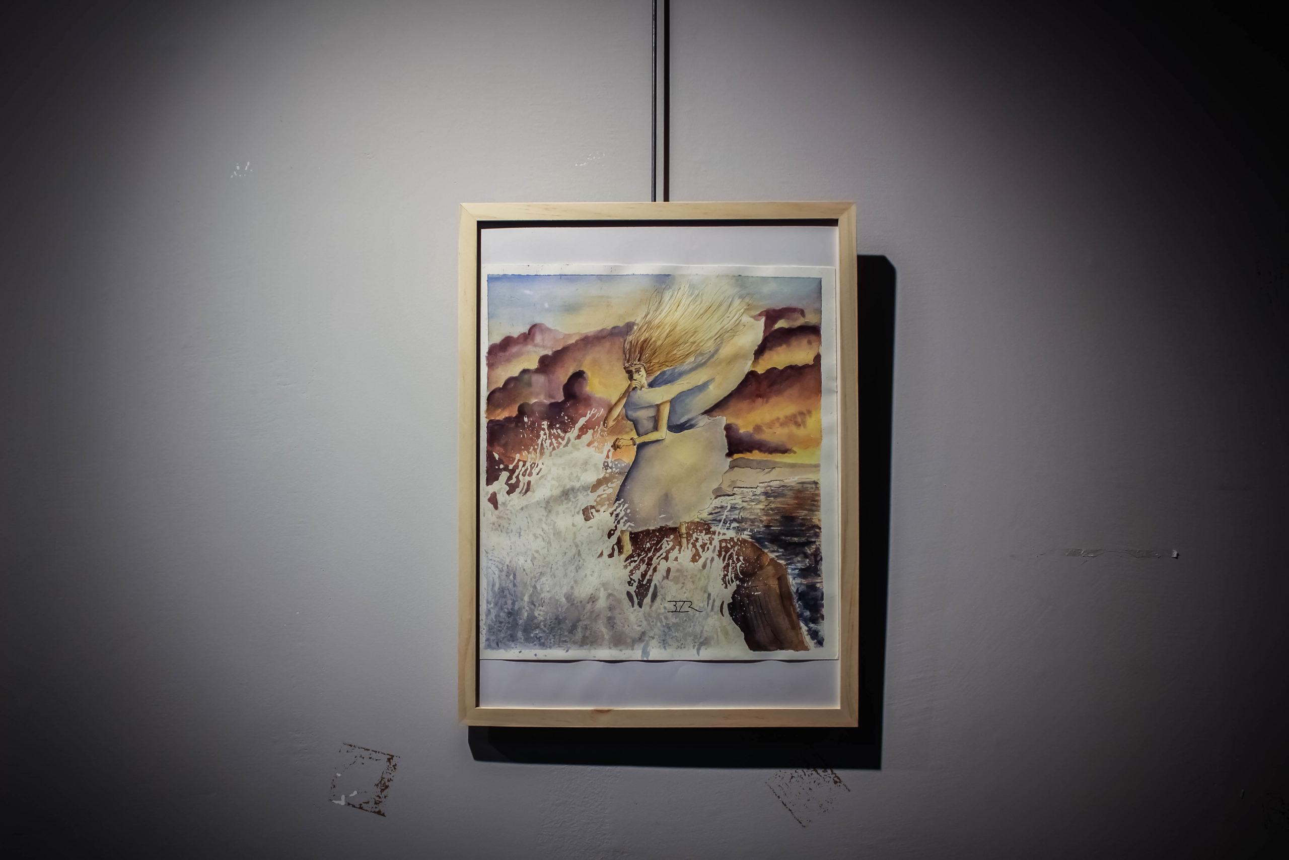 """""""Hostile"""" - Edouard Bouzereau - Exposition """"Souvenirs Déconfinés"""" ENSAPL"""