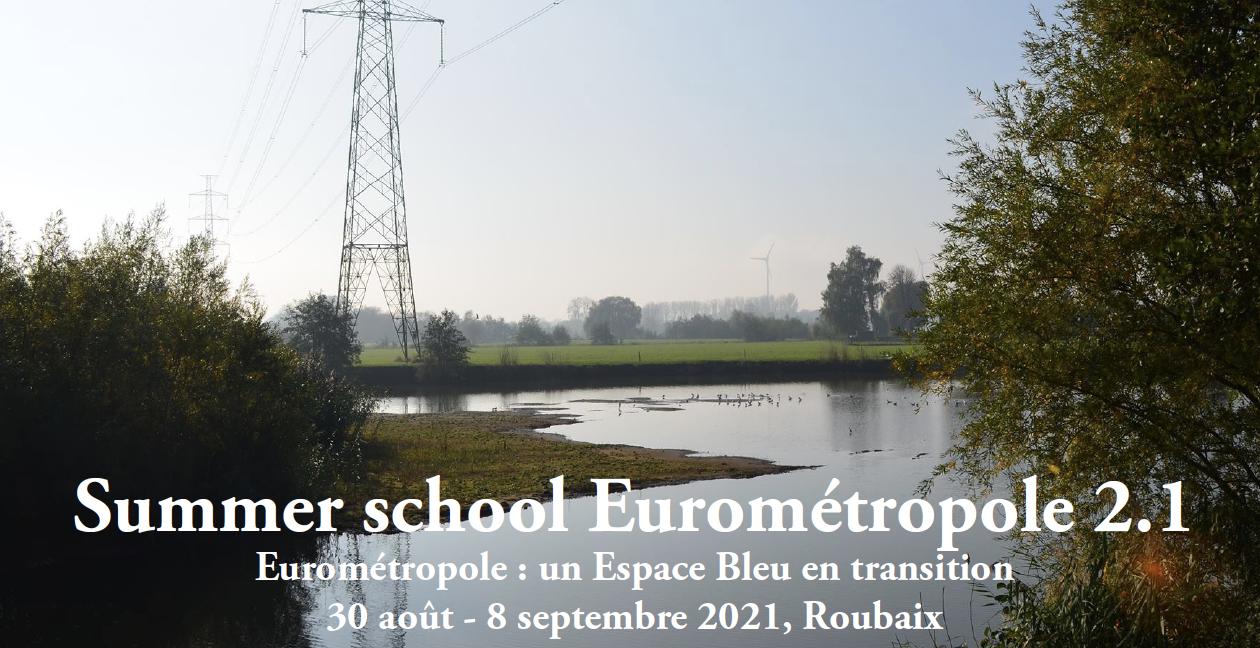 Summer School Eurométropole 2.1 : un Espace Bleu en transition