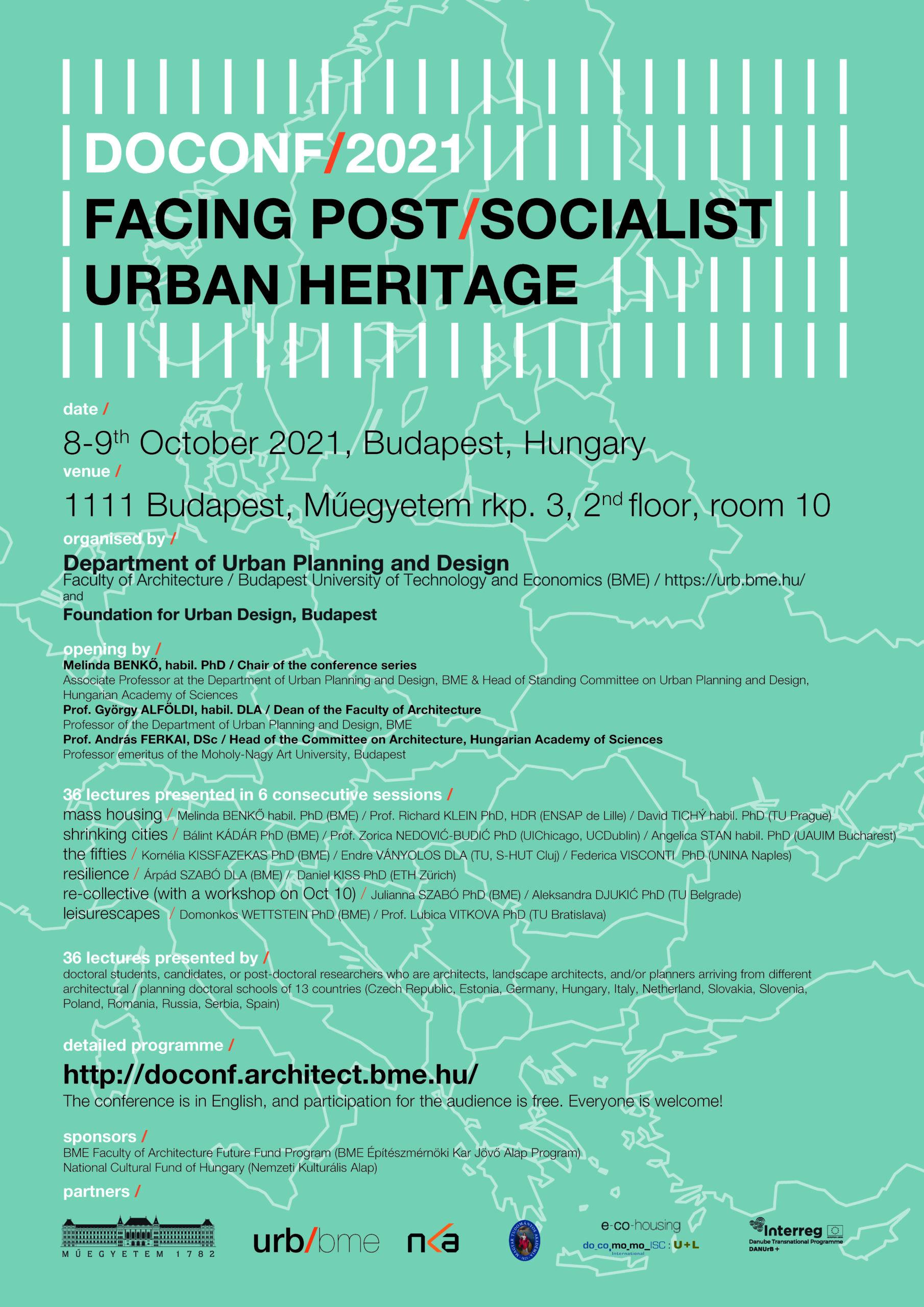 DOCONF21 : Conférence doctorale à Budapest